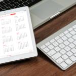 Un exemple d'agenda sur Excel, gratuit